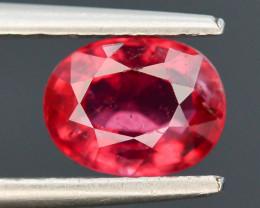 0.90 ct Natural Rubelite Tourmaline