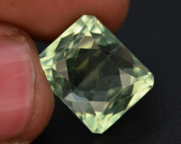 11.15 Ct Green Spodumene Gemstone From Afghanistan~ G AQ
