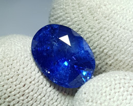 4.75 CTS NATURAL BEAUTIFUL OVAL MIX CUT ROYAL BLUE SAPPHIRE SRI LANKA