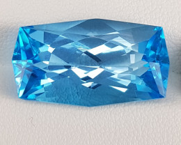 23.60 Carats Natural Blue Topaz.