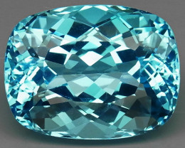 21.00 ct. 100% Natural Earth Mined Top Quality Blue Topaz Brazil
