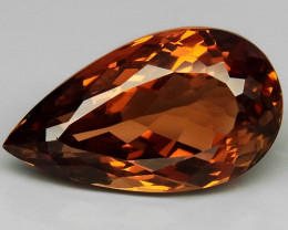 19.53 ct. 100% Natural Topaz Orangey Brown Brazil