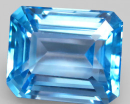 23.58 ct. Natural Swiss Blue Topaz Top Quality Gemstone Brazil