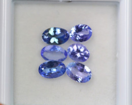 2.41ct Violet Blue Tanzanite Oval Cut Lot D221