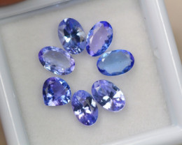 2.84ct Violet Blue Tanzanite Oval Cut Lot D223