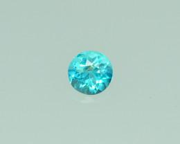 0.69 Cts Stunning Lustrous Paraiba Color Apatite  PRIVATE AUCTION DONT BID