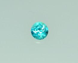 0.693 Cts Stunning Lustrous Paraiba Color Apatite   PRIVATE AUCTION DONT BI