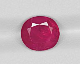 Ruby, 2.61ct - Mined in Burma | Certified by IGI