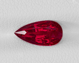 Ruby, 2.03ct - Mined in Mozambique | Certified by AIGS