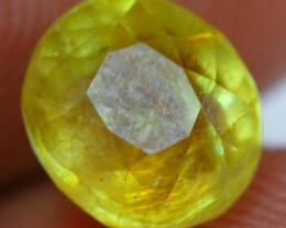2.70cts Honey Yellow Ruby Gemstone