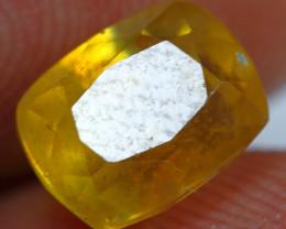 2.85cts Stunning Golden Yellow Ruby Gemstone
