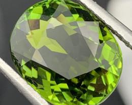 9.10 Carats! Flawless Top Quality Green Tourmaline Perfect Cut