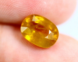 3.36cts Natural Yellow Colour Sapphire / N269