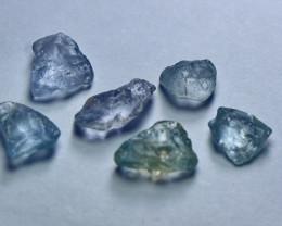 Natural - Unheated Blue Sapphire Clean Facet Rough