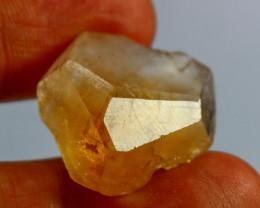 46.50 CT Natural & Unheated Orange Brown Topaz Crystal