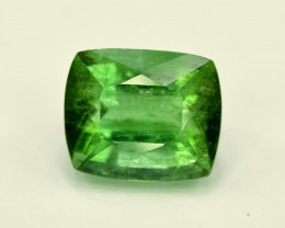 3 Carats Cushion Cut Natural Mint Green Color jaba mine Afghan Tourmaline G