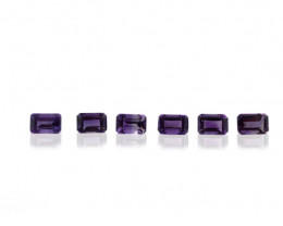 18 Stones - 9.54 ct Amethyst  - $1 No Reserve Auction