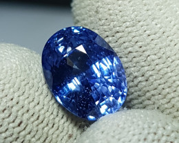 6.83 CTS NATURAL STUNNING OVAL MIX CORNFLOWER BLUE SAPPHIRE FROM SRI LANKA