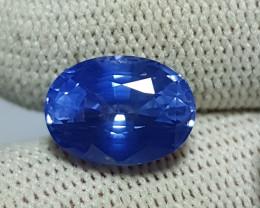 6.19 CTS NATURAL STUNNING OVAL MIX CORNFLOWER BLUE SAPPHIRE SR LANKA