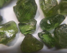 500Ct Natural Green Apatite Facet Rough Parcel