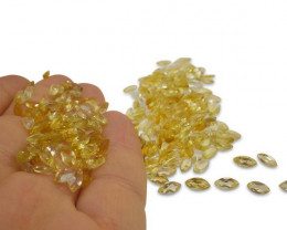 33 Stones -  14.85 ct Citrine  - $1 No Reserve Auction, Free Shipping