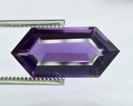 10.75 ~ Carats Fancy Blader Cut Natural Purple Color Amehtyst Gemstone From