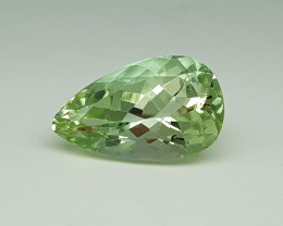 11.75Crt Green Spodumene Natural Gemstones JI58