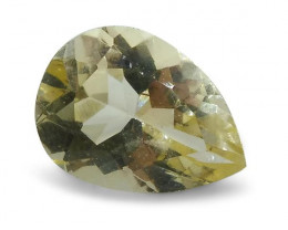 0.98 ct Heliodor 8x6mm Pear