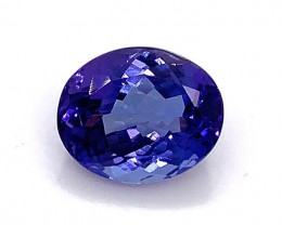 3.52 ct AAA Tanzanite Oval - Loupe Clean! No reserve
