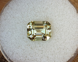 3,72ct Light green Tourmaline - Master cut!