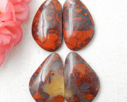 Beautiful African Blood Cabochons,Healing Stone,Wholesale E537