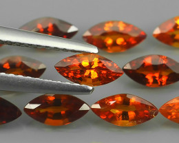 4.75 CTS~DAZZLING RAREST NATURAL TOP LUSTER SPESSARTITE GARNET GEM