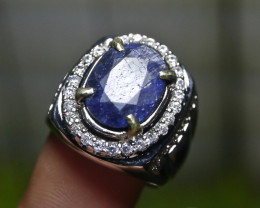 8.45 CT BLUE SAPPHIRE NATURAL GEMSTONE JEWELRY
