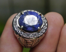 12.25 CT BLUE SAPPHIRE NATURAL GEMSTONE JEWELRY