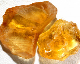 34.90-CTS CITRINE ROUGH NATURAL  PARCEL BG-494