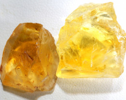 62.30-CTS CITRINE ROUGH NATURAL  PARCEL BG-501