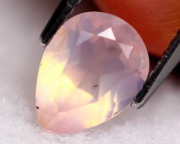 Rose Quartz 1.22Ct Natural Sakura Pink Rose Quartz D1401