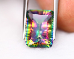 6.59Ct Natural Mystic Topaz Octagon Cut Lot LZB670