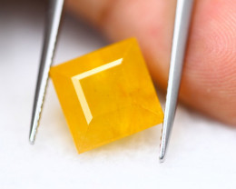 9.25Ct Yellow Sapphire Square Cut Lot LZB667