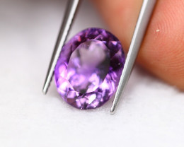 5.83Ct Natural Purple Amethyst Oval Cut Lot LZB664