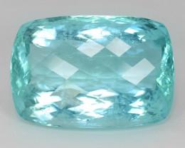 119.19 Carat Unheated Natural Earth Mined Sky Blue Color Aquamarine Gemston