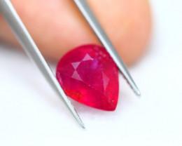 4.73ct Ruby Pear Cut Lot GW7221