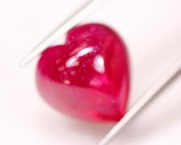 15.39ct Ruby Heart Cabochon Lot GW4817