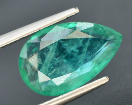 AAA Grade Top Color 1.90 ct Zambian Emerald