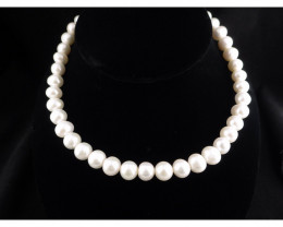 Pearl Necklace 16inch -$1 No Reserve Auction