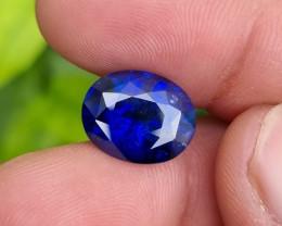 ROYAL BLUE 8.60 CTS NATURAL STUNNING OVAL MIX CUT SAPPHIRE SRI LANKA