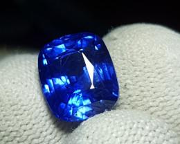 GOOD QUALITY 6.97 CTS NATURAL STUNNING CORNFLOWER BLUE SAPPHIRE SRI LANKA