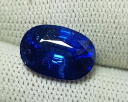 TOP QUALITY 6.03 CTS NATURAL STUNNING ROYAL BLUE SAPPHIRE SRI LANKA