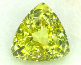 17.53 Cts Lemon Quartz Awesome Color and Luster Gemstone