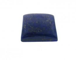 6.94 ct Square Natural Fine Blue Lapis Lazuli Gemstone